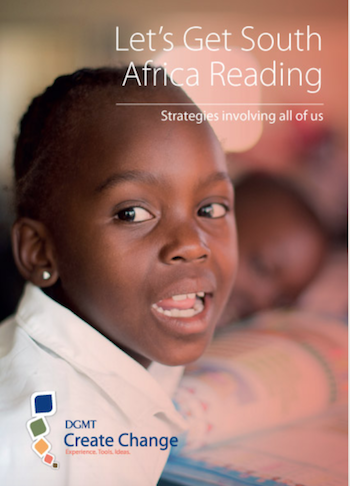 "Policy brief/strategy document: ""Let's Get South Africa Reading"""